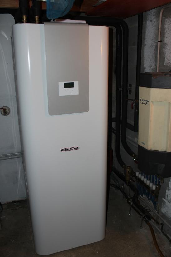 Pompe à chaleur intérieure