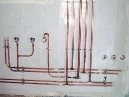 Réseau plomberie cuivre