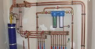 Double filtration eau sanitaire