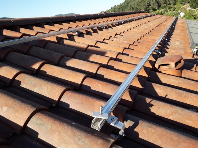 Fixation sur toiture